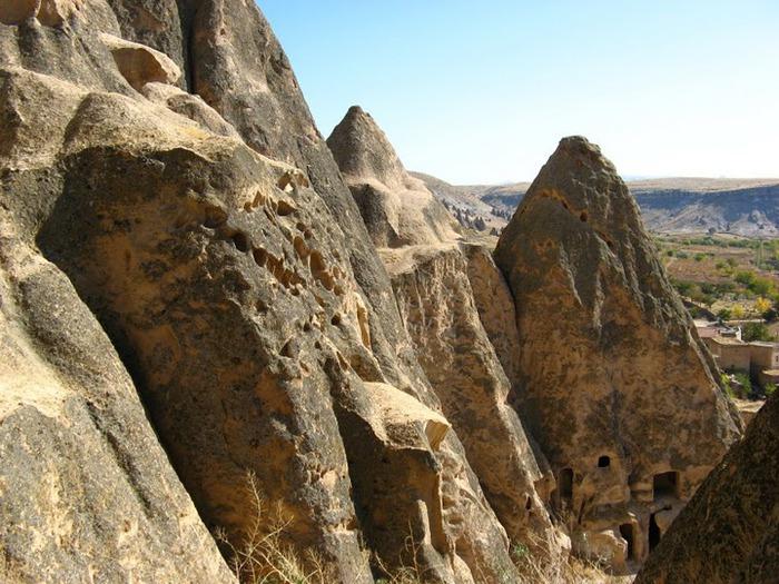 вырубленный в скалах - монастырь Селиме (Selime) 88213