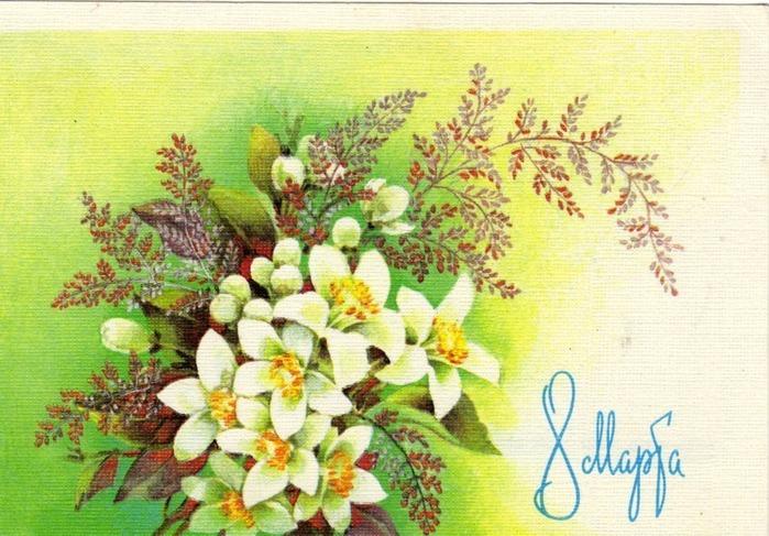 открытки с днем 8 марта 64