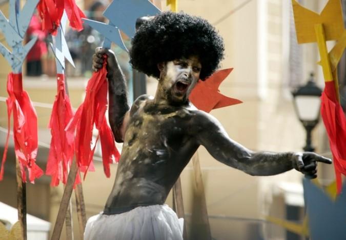 Самбо карнавал в Триполи (Zambo carnival in Tripoli), Ливан, 6 марта 2011 года.