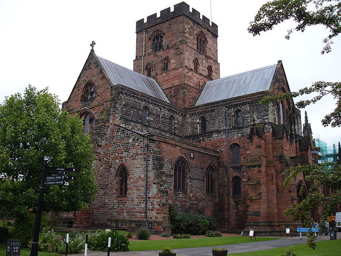 CARLISLE, Cathedral Church of the Holy and Undivided Trinity, 1133 � (700x525, 111 Kb)