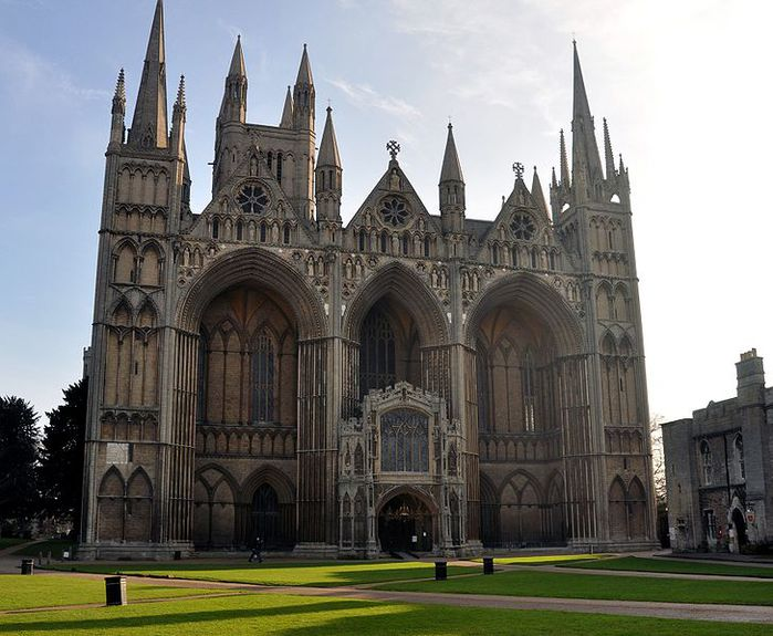 PETERBOROUGH, Cathedral Church of St Peter, St Paul and St Andrew, 1238-1539 � (699x575, 75 Kb)