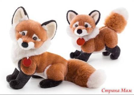 Мягкие игрушки своими руками лисы
