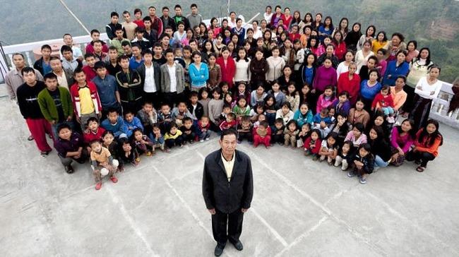 Зиона Чан - Самая большая в мире семья