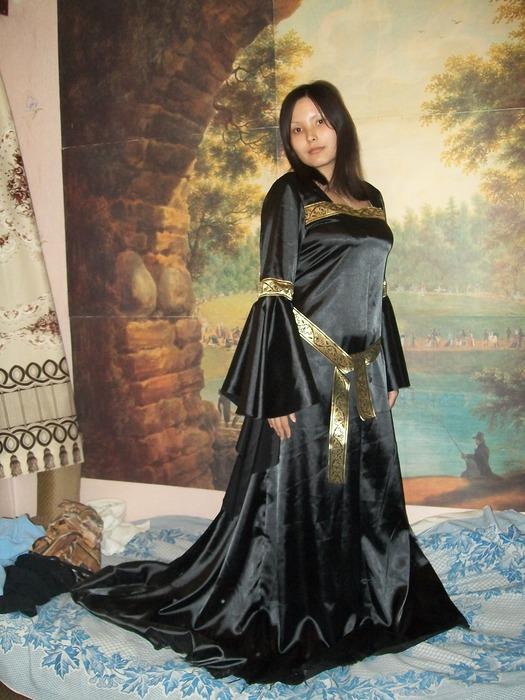 Эльфийские платья сшить