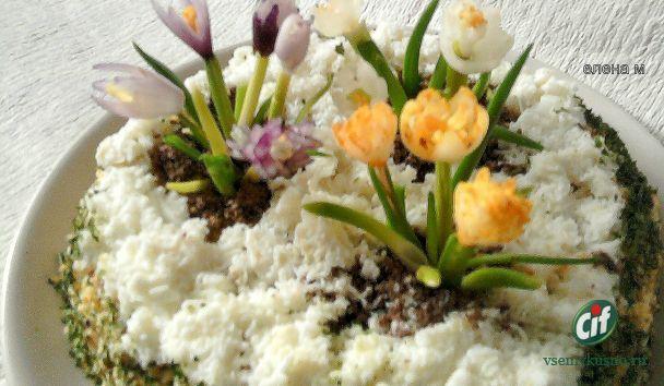 Весенние салаты с фото
