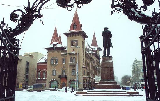 Картинки по запросу консерватория саратов зима