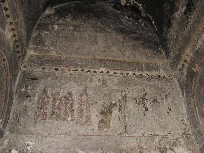 вырубленный в скалах - монастырь Селиме (Selime) 29187