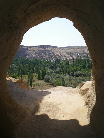 вырубленный в скалах - монастырь Селиме (Selime) 43537
