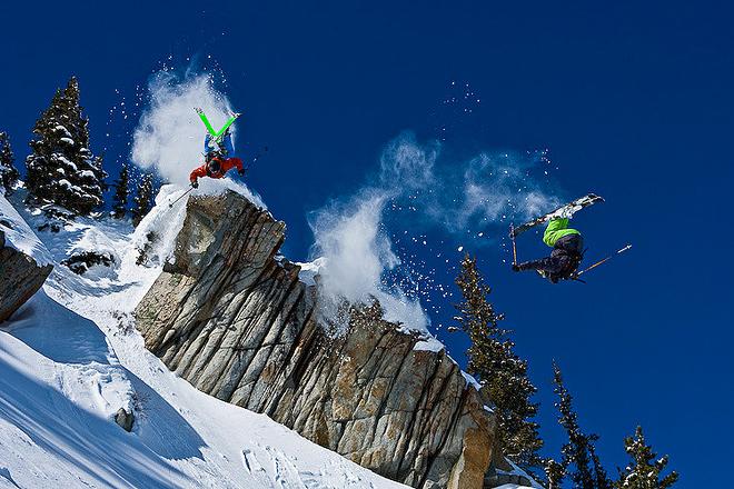 Фото лыжников