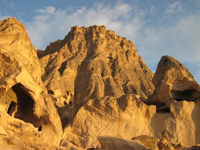 вырубленный в скалах - монастырь Селиме (Selime) 27126