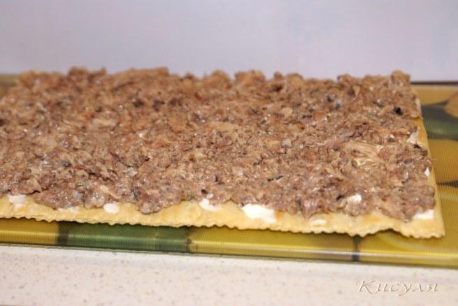 Торт 'Наполеон закусочный'