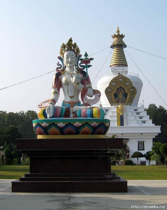 Индия 2009 Дехрадум буддизм