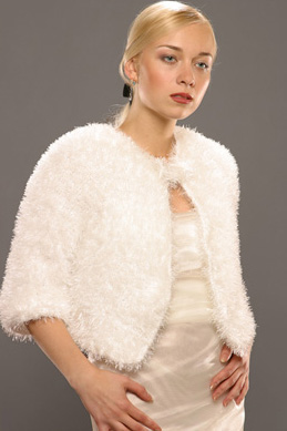 Вязание платья из травки