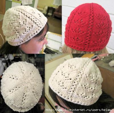Ажурная шапочка Shizen Hat!