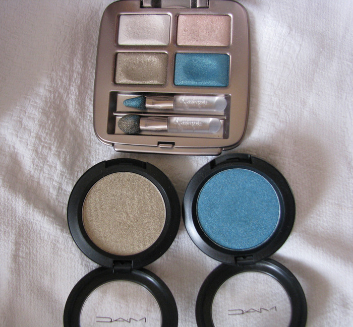 MAC Dalliance, Odalisque, Guerlain 405 Perles des mers