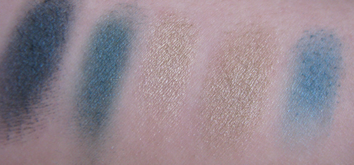 MAC Strike a pose, Odalisque, Dalliance, Guerlain 405 Perles des mers