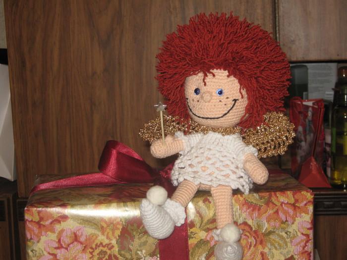 <вязаная крючком кукла - Самое