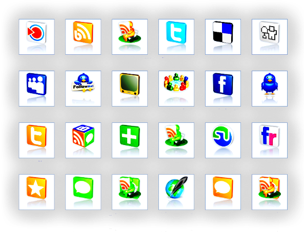 социальные иконки: