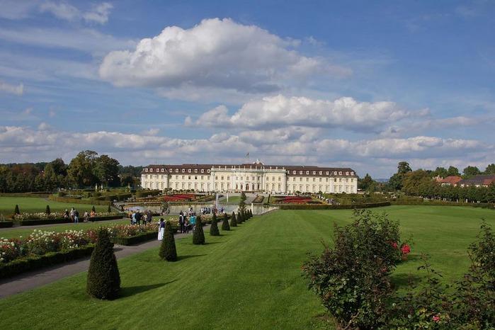 Людвигсбургский замок-резиденция. 89898