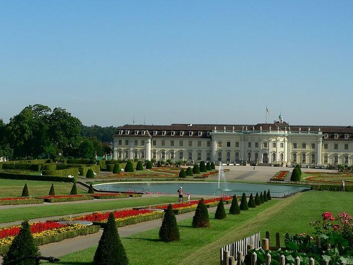 Людвигсбургский замок-резиденция. 51968