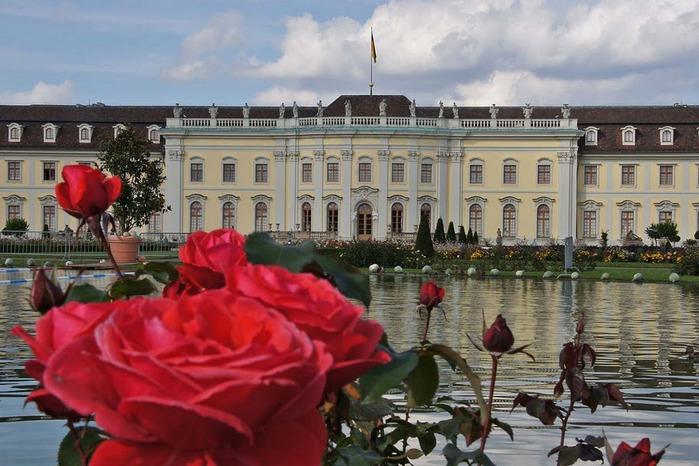 Людвигсбургский замок-резиденция. 78425