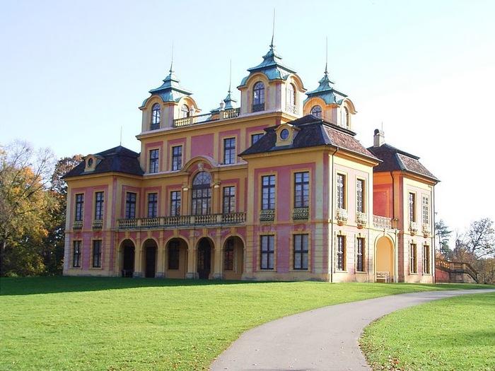 Людвигсбургский замок-резиденция. 47652