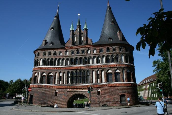 Голштинские ворота - Holstentor -Любек 66906