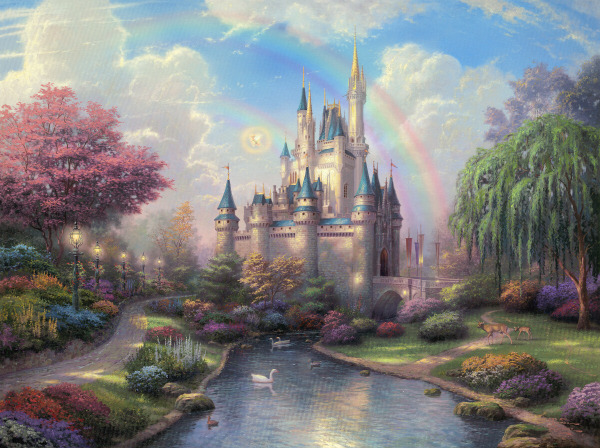 A New Day at the Cinderella Castle (600x448, 131 Kb)