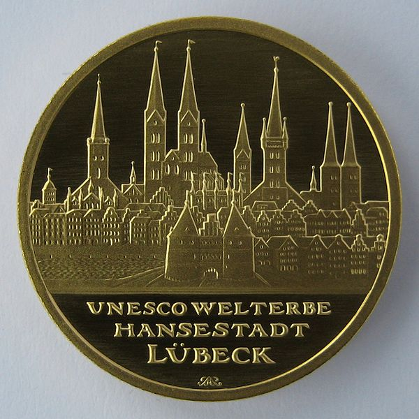 Голштинские ворота - Holstentor -Любек 50301