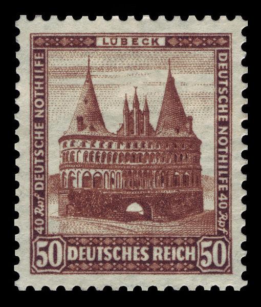 Голштинские ворота - Holstentor -Любек 85687