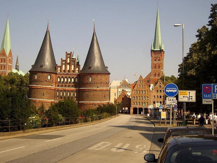 Голштинские ворота - Holstentor -Любек 89941