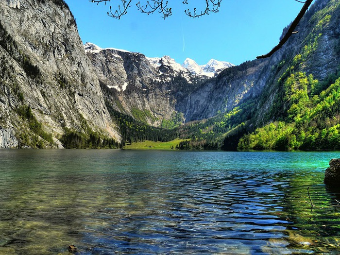Озеро Кёнигсзе - Bayern. 37475