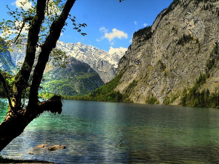 Озеро Кёнигсзе - Bayern. 73593