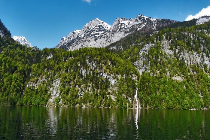 Озеро Кёнигсзе - Bayern. 70983