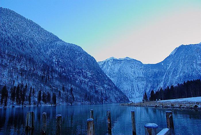 Озеро Кёнигсзе - Bayern. 75683