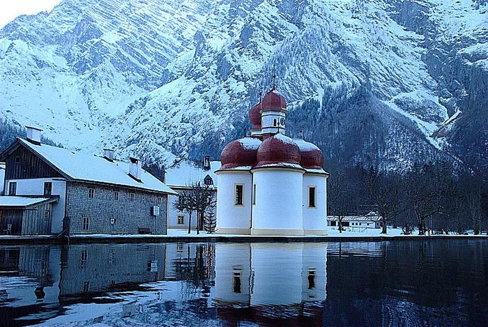 Озеро Кёнигсзе - Bayern. 23643