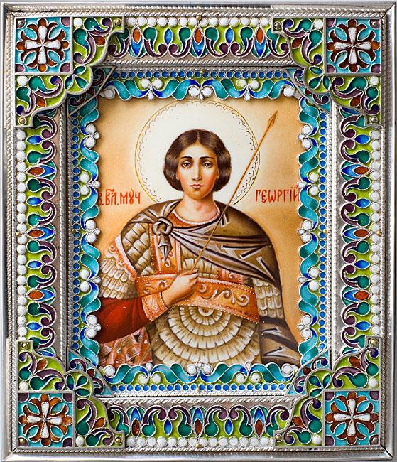 Ярославская икона Божией Матери (бисер).  Вязанные...  Плетение бисером и не только.  Прочитать целикомВ.