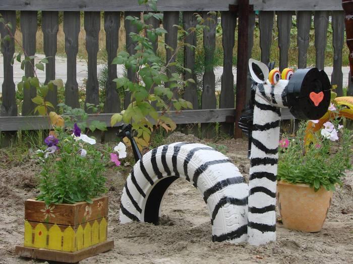 Скамейка из шин для сада и огорода своими руками мастер класс 71