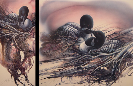 a short recount of collin and lee bogles artwork