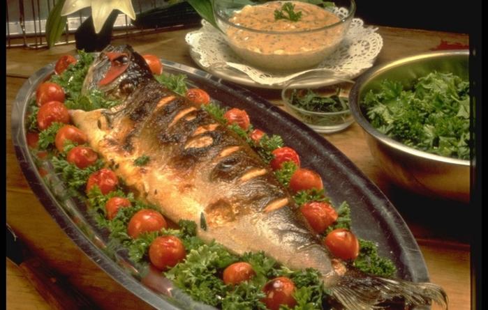 Горячие блюда из горбуши на праздничный стол рецепты