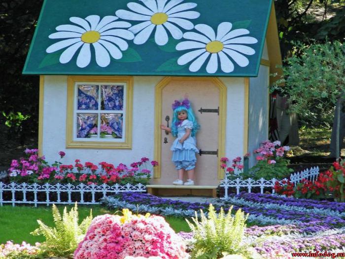Фото композиций из цветов дома
