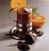 Апельсиновый шоколад (горячий напиток)