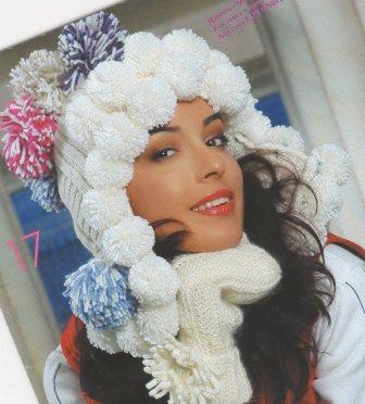 осинка вязание спицами шали схемы. вязание шапок спицами для девочек.