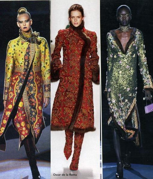 современная одежда в русском традиционном стиле.