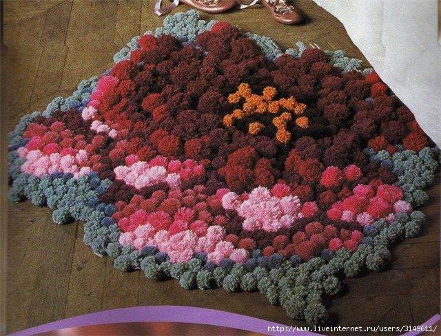 Как сделать коврики своими руками из старых