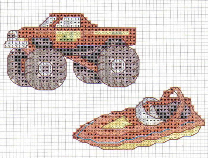 Дизайны вышивки на машинах 323