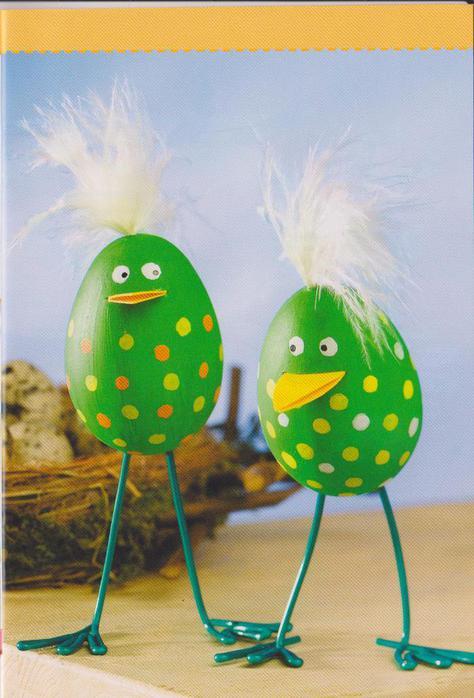 Поделки своими руками из яйца фото