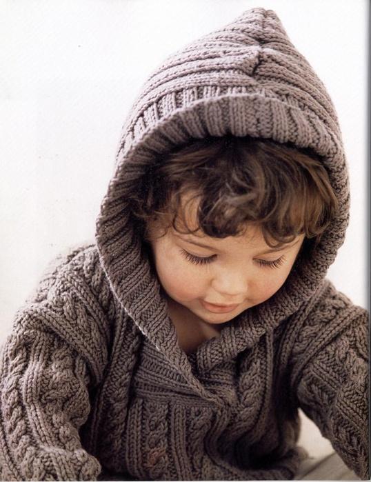 Вязание спицами мужской пуловер джемпер 87
