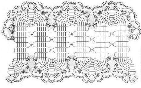 брюггское кружево схемы