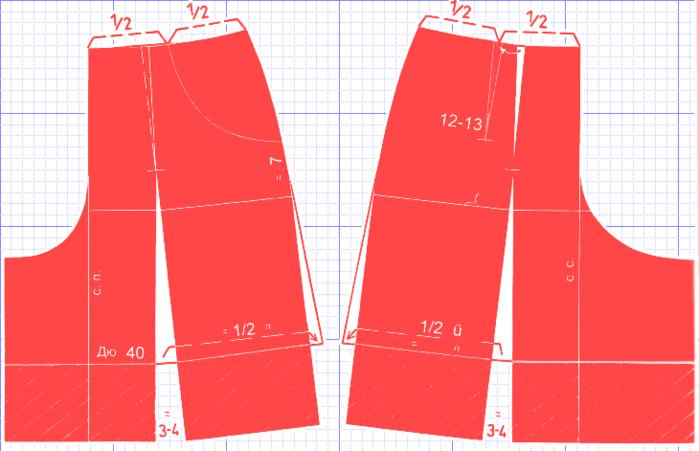 Выкройка шорты для маленьких фото 136